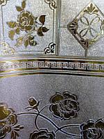 Клеёнка Shine (золото/серебро) ширина 140