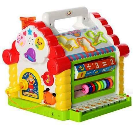 Развивающая логическая игрушка сортер для малышей Теремок Joy Toy 9196
