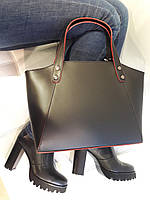 Аккуратная кожаная сумка