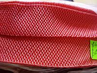 Ременная лента стропа красная 2.5 см (Тесьма сумочная)