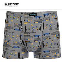 Мужские боксеры стрейчевые  Марка  «IN.INCONT»  Арт.7564, фото 2