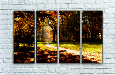 """Модульна картина """"Осінній ліс"""""""