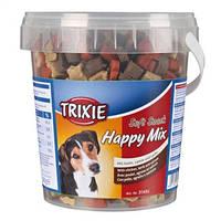 31495 Трикси Витамины для собак Happy Mix Ведро пластик   500 г