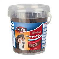 31499 Трикси Витамины для собак Happy Stripes Ведро пластик   500 г