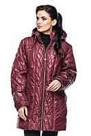 Женская демисезонная куртка -батал,MOZ-LUI-112