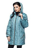 Женская демисезонная куртка -батал,MOZ-LUI-113