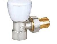 HLV-107007L Клапан регулировочный угловой компакт