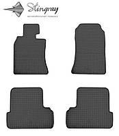 MINI COOPER II 57 2006- Комплект з 4-х ковриків Чорний в салон. Доставка по всій Україні. Оплата при отриманні