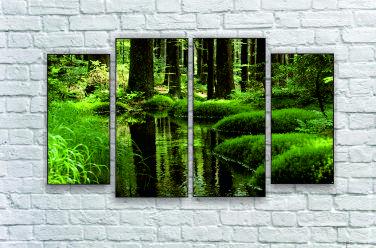 """Модульна картина """"Лісова гущавина"""""""