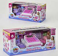 Детский кассовый аппарат 5922 звук, свет, на батарейке, в коробке