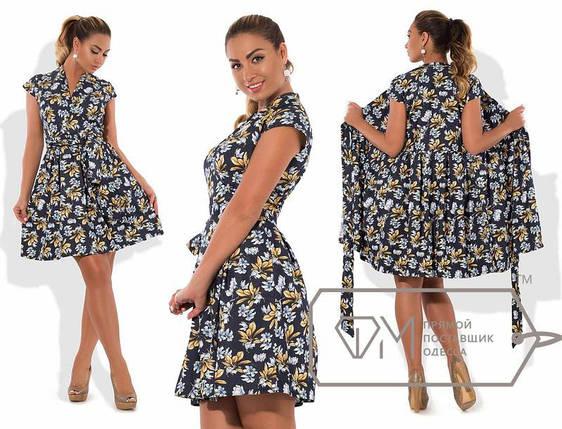 Батальное платье на запах, фото 2