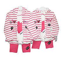 Костюмы детские трикотажные тройки для деовочки Necixs 09080