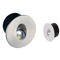 Лестничный светильник светодиодный 3W матовый хром Yakut HOROZ