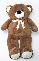 Мягкая игрушка Мишка 140 см темно-коричневый