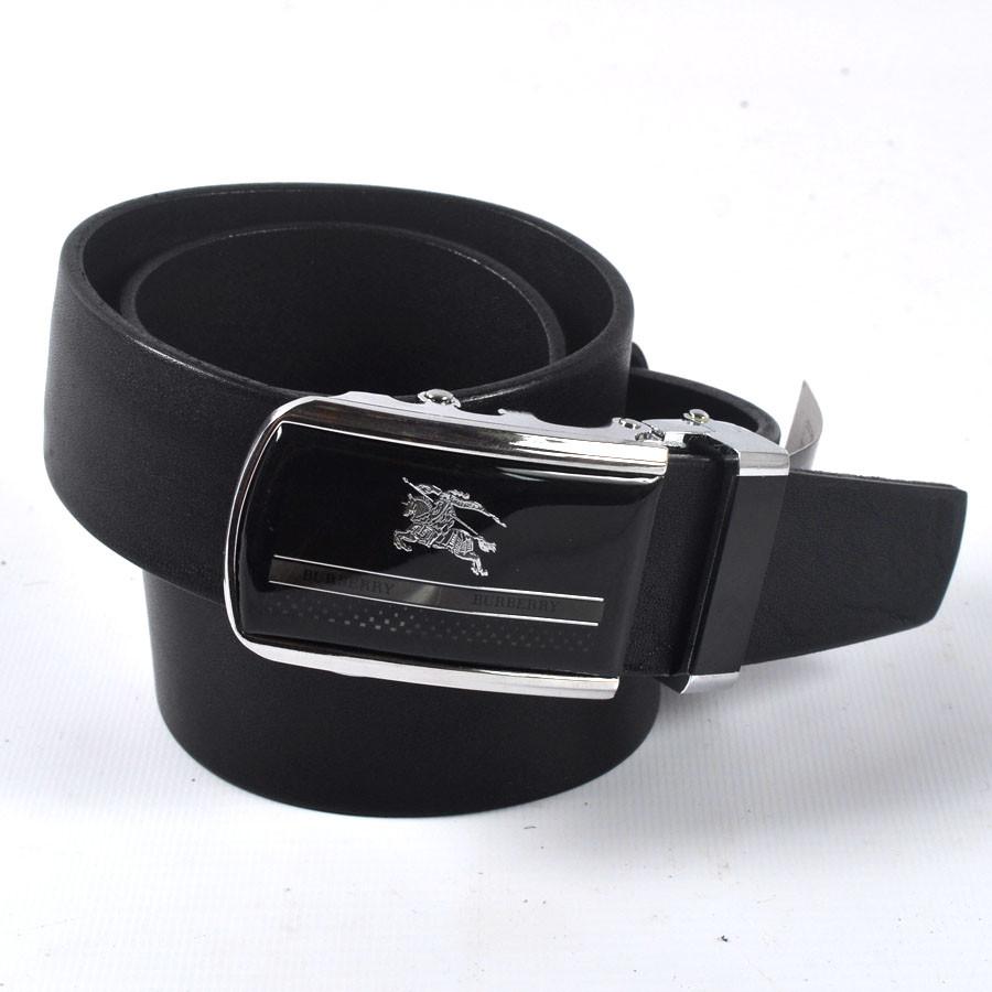 Мужской стильный кожаный ремень BURBERRY (черный) - ИЗИДАмаркет в  Хмельницком 6b8d147d2e7