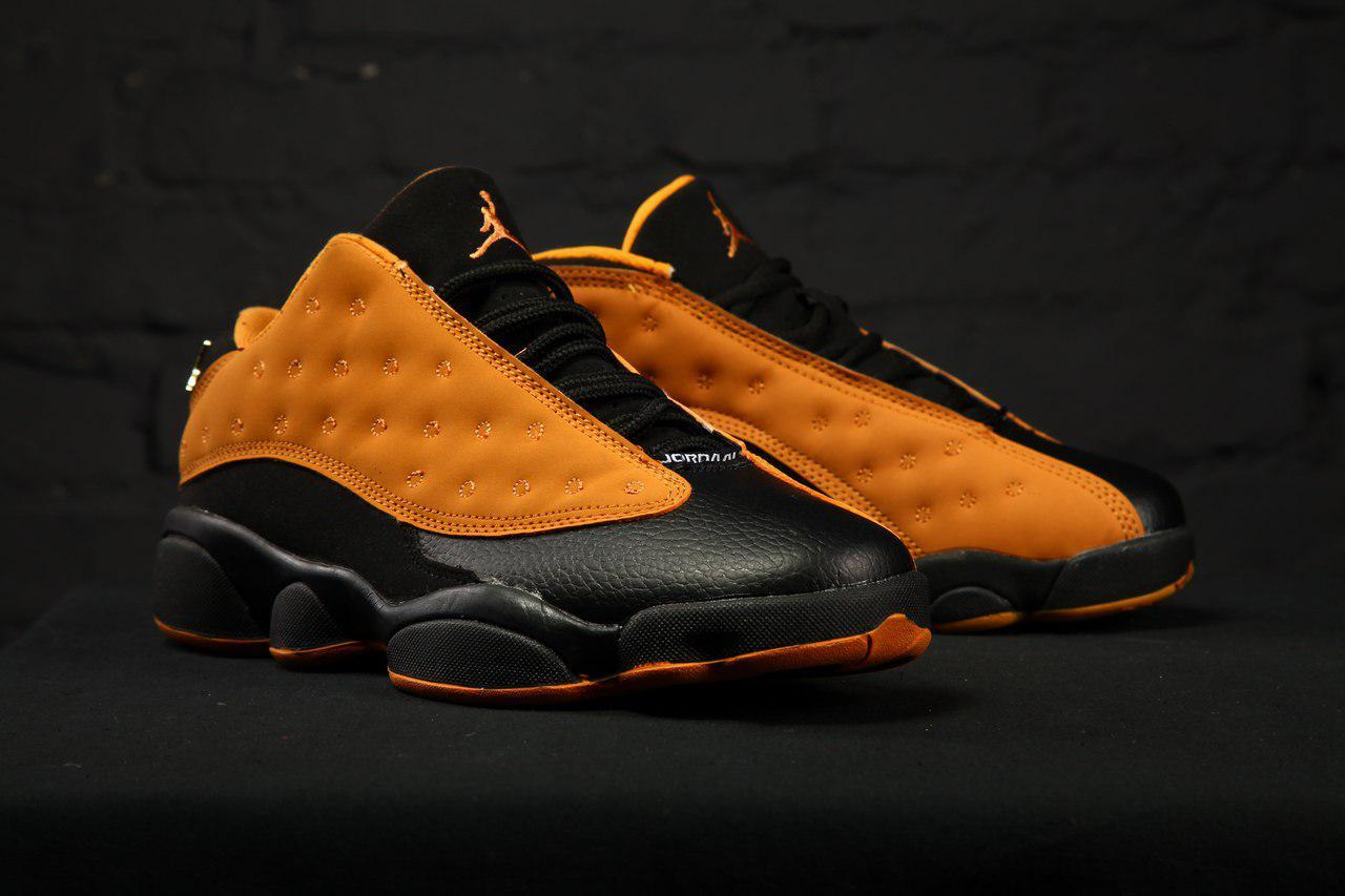 b9817f329b7b Мужские кроссовки Nike Air Jordan 13 Retro Low Chutney Chutney Black (Топ  качество) -