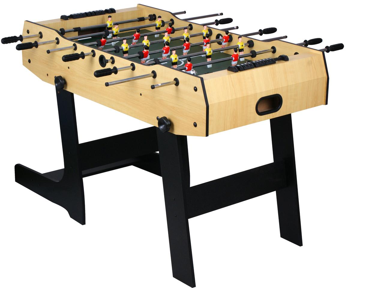 Настольный футбол складной, игровой стол - 121 х 61 х 81см