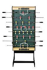 Настольный футбол складной, игровой стол - 121 х 61 х 81см, фото 3