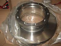 Диск тормозной MERCEDES ACTROS (пр-во TruckTechnic) TTBR1650