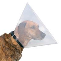 Дог Экстрим пластиковый воротник для собак и кошек (размер М, высота 20см, А:38-44см) 1563