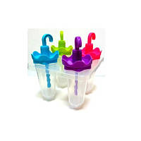 "Формы для мороженого ""Sun"" R21137 пластик 4шт/наб 12см, формочки для мороженного, формы для мороженного"