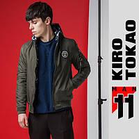 Куртка-Бомбер демисезонная двухсторонняя Kiro Tokao - 322S хаки-камуфляж