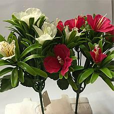 Искусственные цветы.Искусственный букет анютины глазки., фото 2