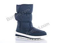 Дутики Selena G112-9 синие DG синий
