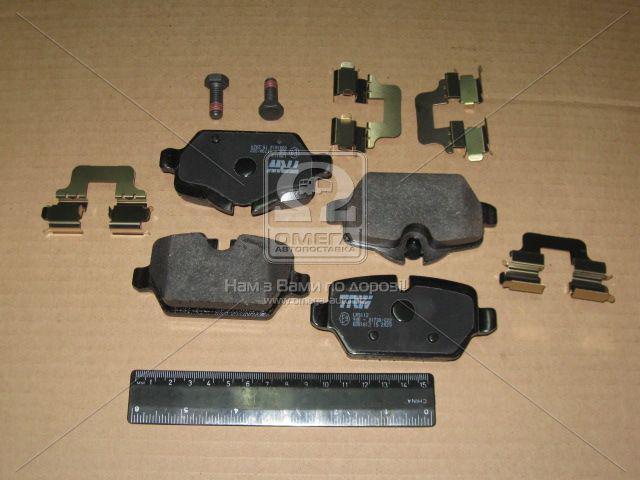 ⭐⭐⭐⭐⭐ Колодки тормозные БМВ задние (производство  TRW) МИНИ,1,3, GDB1612
