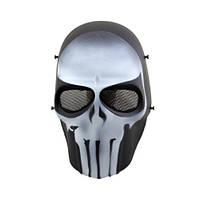 """Страйкбольная маска Punisher """"Call of Duty"""" - черная"""