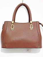 Молодежная сумка матовый кож.зам шоколад, фото 1