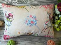 Подушка детская маленькая фея 2,  42 см * 30 см