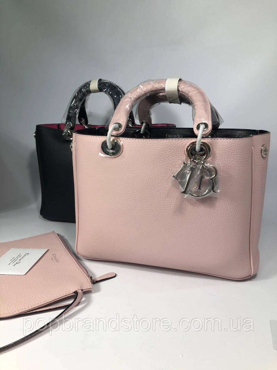 Женская кожаная сумка DIOR Diorissimo lux (реплика)  продажа, цена в ... 73e891bf6d9