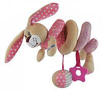 Плюшевая игрушка спираль Baby Mix STK-17507 Кролик