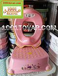 Антискользящая детская пластиковая накладка (адаптер) на унитаз, фото 7