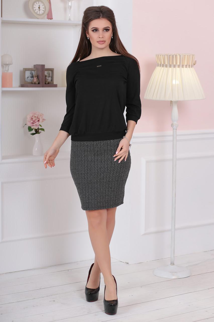 Женская юбка с узорами