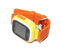 Детские часы Q100 с GPS Orange, Wi-Fi, GPS / GSM / GPRS, микрофон, динамик, совместимость с Android, iOS смартфонами