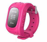 Детские часы Q50 с GPS Pink,  GPS/GSM/GPRS, Bluetooth/Микрофон/Динамик
