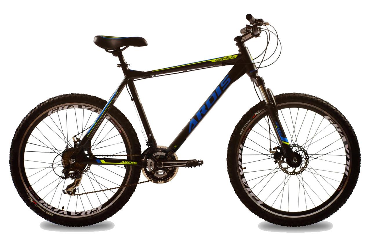 """Горный велосипед ARDIS INSPIRON  26"""" Черный / Синий"""