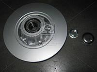 Диск тормозной OPEL VIVARO COMBI 06-,RENAU TRAFIC 06- задн. с подшипн. (пр-во ABS) 17330C