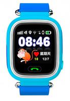 Детские часы Q100 с GPS Blue, Wi-Fi, GPS / GSM / GPRS, микрофон, динамик, совместимость с Android, iOS
