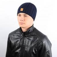 Теплая мужская шапка, изготовлена из шерсти (4 цвета), фото 1