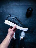 Nike Air Force 1 Ultraforce Leather (Black / Black - White)