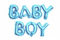 Фольгированные буквы Baby Boy, 40 см
