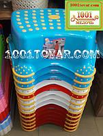 Антискользящая детская пластиковая ступенька - подставка