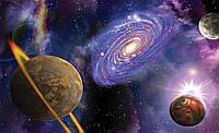 Галактика красивые фотообои на стену размер 368 х 254 см