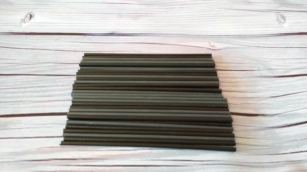 Палочки для Кейк попсов Черные (пластик) 15 см