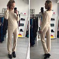 Женские костюм гольф+брюки ангора