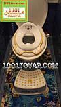 Антискользящая детская пластиковая накладка (адаптер) на унитаз и ступенька - подставка, фото 10