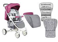 Детская прогулочная коляска  Lorelli/bertoni S-300 ROSE&GREY CITIES